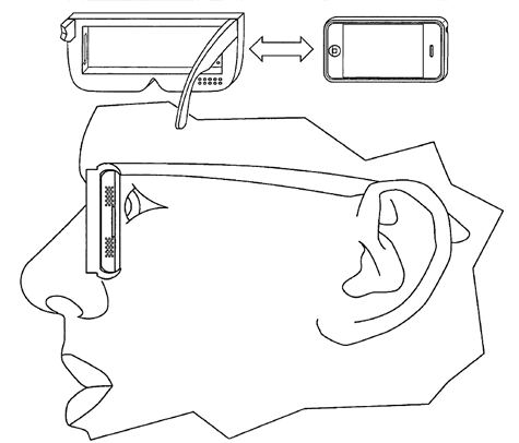 patent 3d bril iphone apple