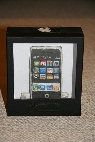 iPhone van klei