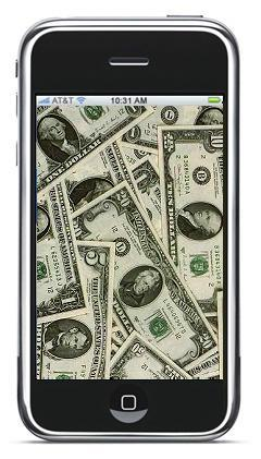 iPhone rekening: $5000