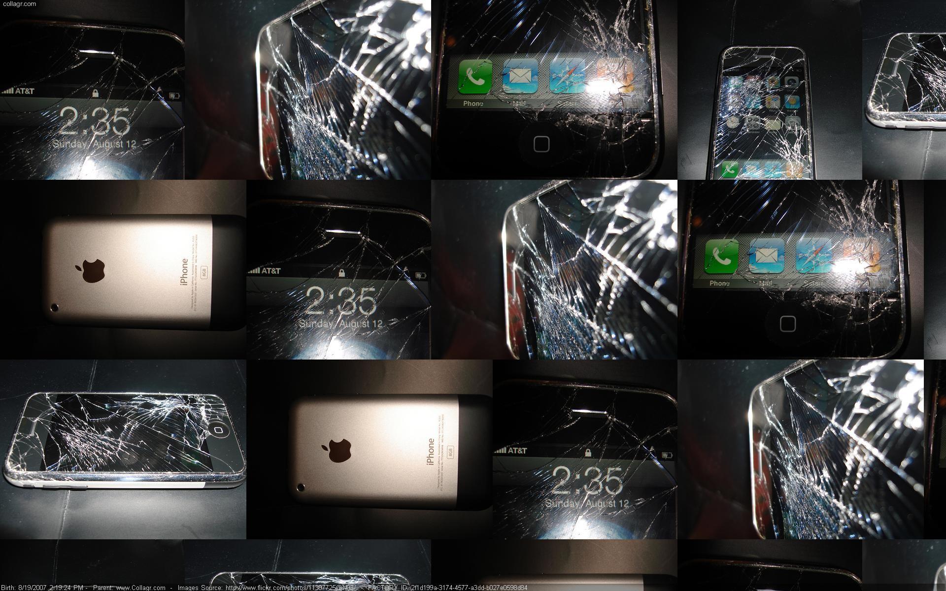iPhone Scherm Barst