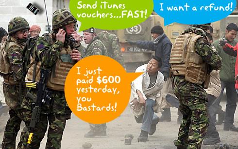 Boze iPhone-gebruikers na prijsverlaging