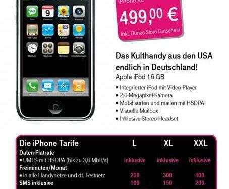 Duitsland verwacht iPhone op 15 Juni