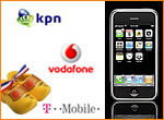 iphone t-mobile kpn of vodafone