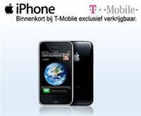 apple iphone t-mobile nederland