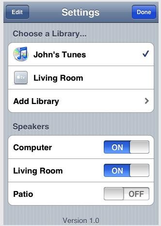 iPhone Remote iTunes 7.7