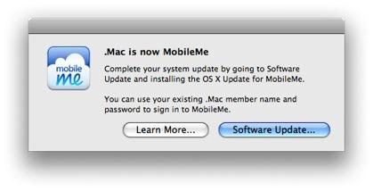 MobileMe Update