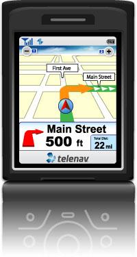 Telenav Navigatie iPhone 3G