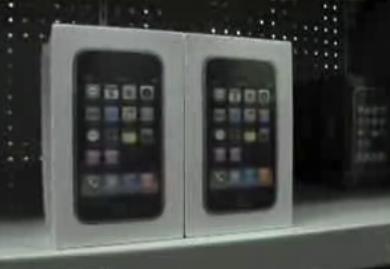 Witte iPhones in witte verpakking