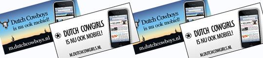 DutchCowboys & Girls nu ook op iPhone