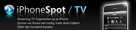 TV kijken op je iPhone met iPhoneSpot