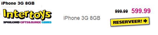 Problemen met iPhone intertoys