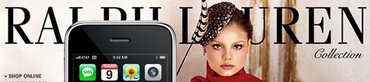 Ook Ralph Lauren komt met eigen iPhone-app
