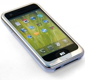 Goedkope iPhone-kloon met Android