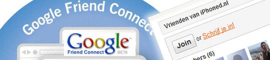 Google Friend Connect nu beschikbaar op iPhoned.nl