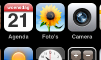 Extra iconen op je springboard: Five-Column SpringBoard