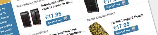 iPhone accessoire shop met opruiming begonnen (adv)