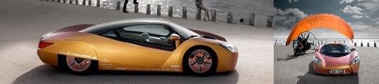 Conceptauto gebouwd rondom de iPhone