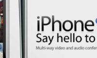 nieuw iPhone concept: 'Say hello to iChat'