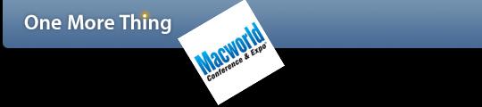OMT geeft overzicht van Macworld 2009