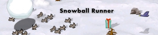 iPhone game: Snowball Runner