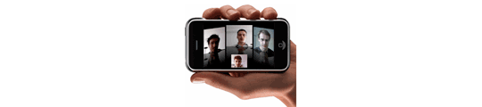 Videoconferenties op nieuwe iPhone?