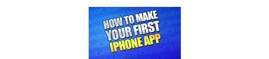 iPhone app. builder: how to make your first app.
