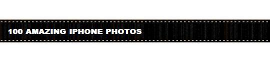 Honderd mooie iPhone foto's