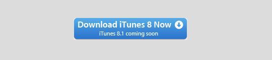 iTunes 8.1 is in aantocht