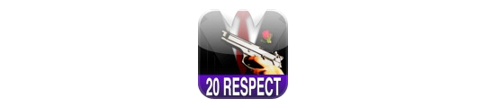 iMob online: 20 gratis respect points!