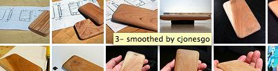 iPhonsey, houten iPhone voor baby