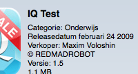 Review: iQ test