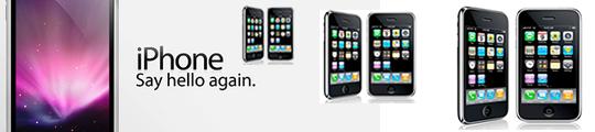 Concept van iPhone 4G in beeld