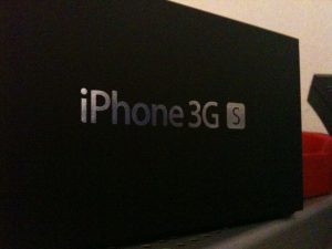 iPhone 3G S: de doos