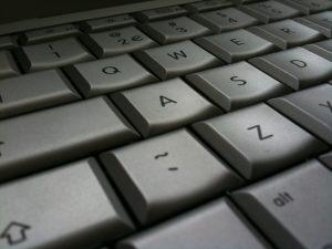 Foto van een toetsenbord