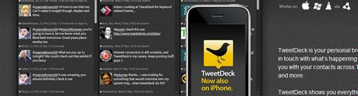 Tweetdeck – Twitter app nu gratis voor de iPhone