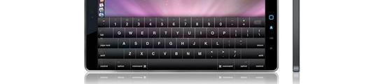 Apple Tablet Netbook voor de kerst?