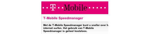 Problemen met streaming video via 3G? Schakel de speedmanager uit!