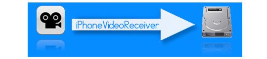 iPhoneVideoReceiver zorgt voor overdracht video Cycorder