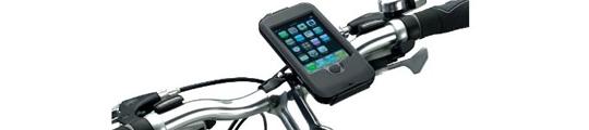iBikeConsole klemt jouw iPhone vast op de fiets