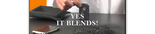 Will It Blend: iPhone 4