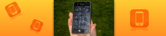 Weer een uiteenspattende iPhone