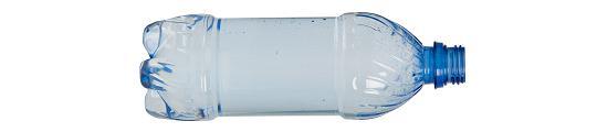 Recycle flessen voor een droge iPhone