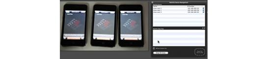 Multivid laat dezelfde video gelijktijdig vertonen op verschillende toestellen