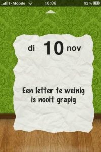 Nooit Grappig