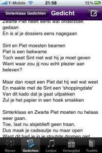 Sinterklaas gedicht