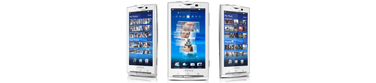 Sony Ericsson x10: waardige concurrent van iPhone?