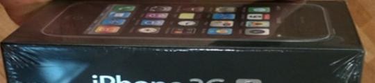 Kleinere verpakking iPhone 3GS