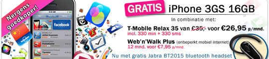 Gratis Jabra headset bij iPhone (adv)