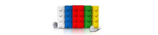 De officiële applicatie van LEGO