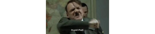 Humor: de iPad frustreert Hitler